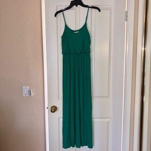 Lush Teal Maxi Dress